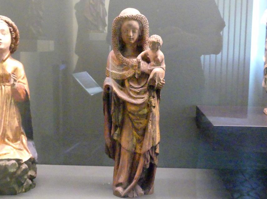Muttergottes mit Kind, Um 1350