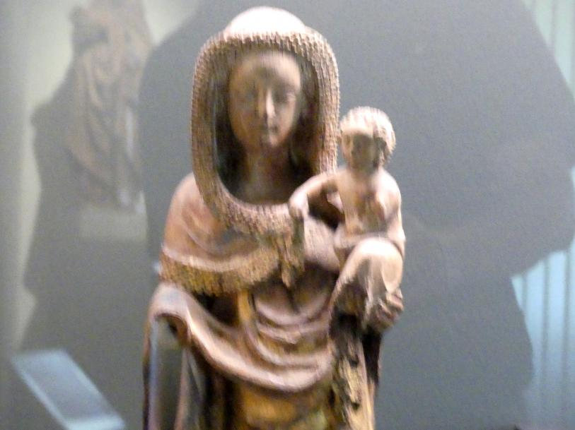 Muttergottes mit Kind, um 1350, Bild 2/3
