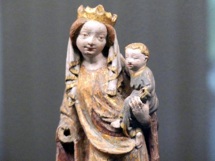 Maria mit dem Kind, um 1420, Bild 3/4