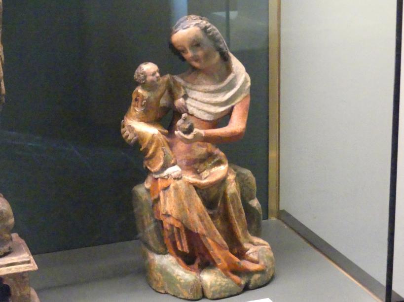 Muttergottes mit Kind, Um 1380