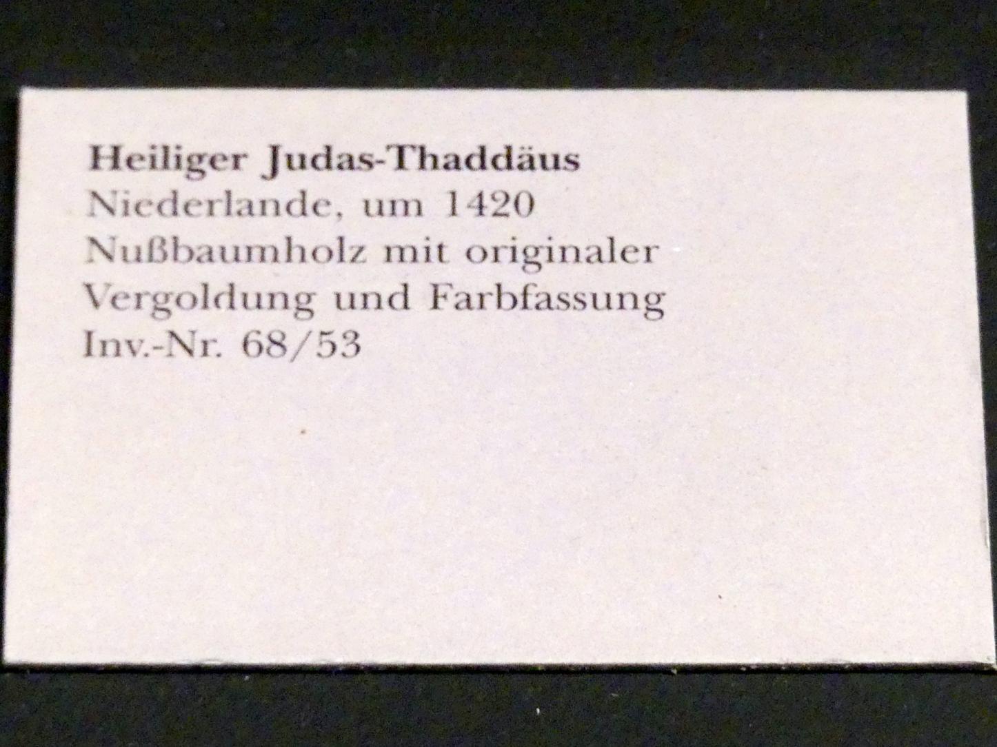Heiliger Judas Thaddäus, um 1420, Bild 3/3