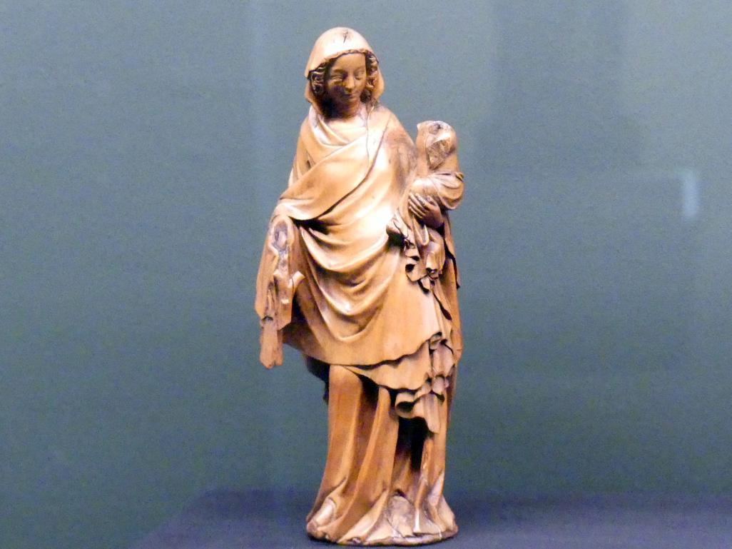 Stehende Muttergottes mit Kind, Um 1370