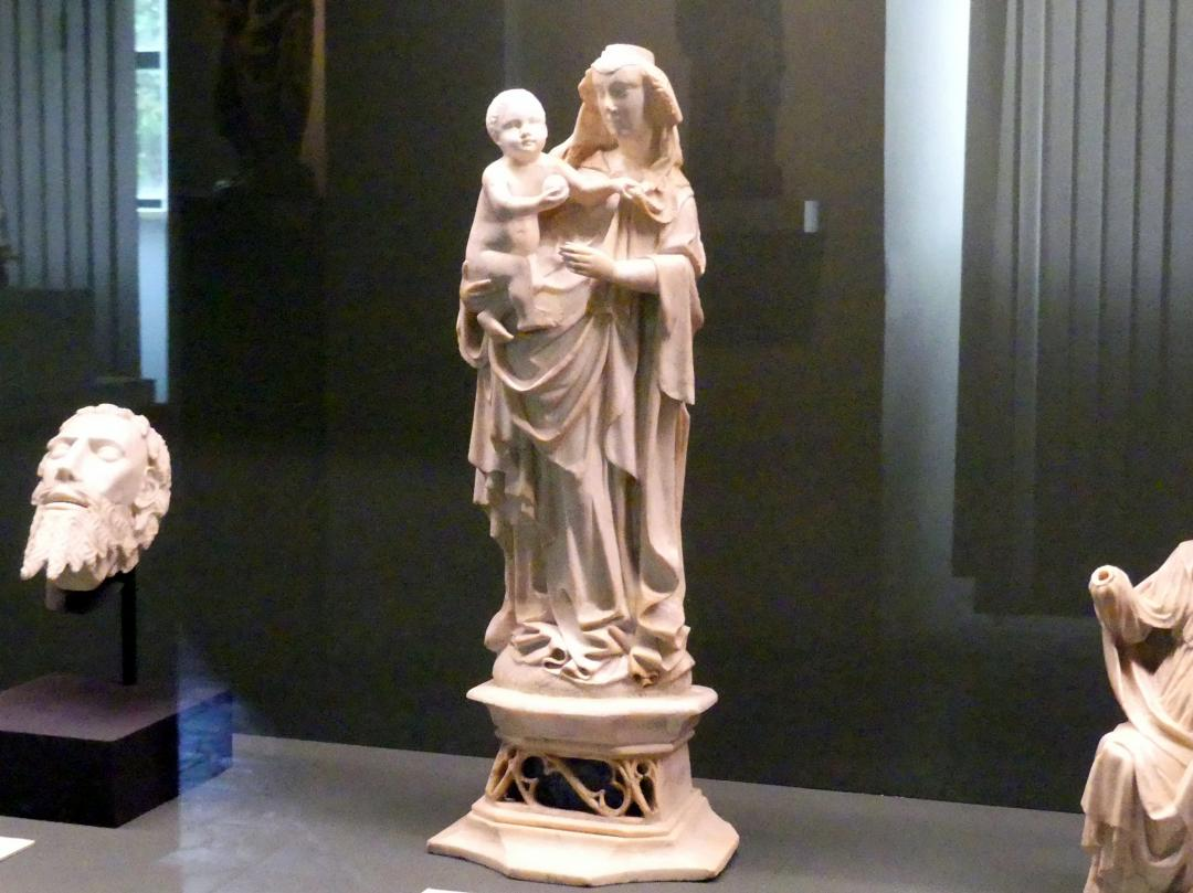 Meister des Rimini-Altars (Umkreis): Muttergottes mit Kind, Um 1430