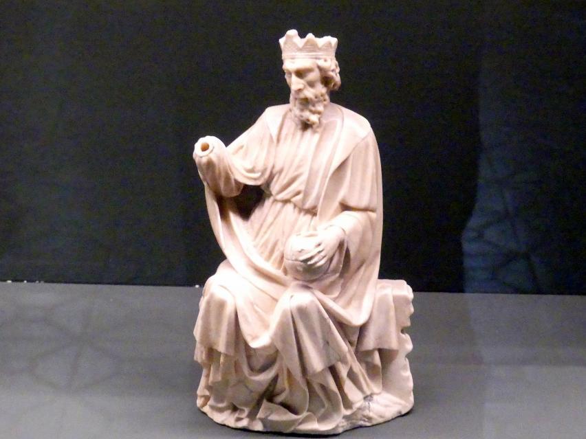 Gottvater aus einer Marienkrönung, Um 1430