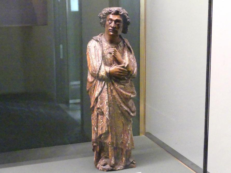 Hl. Johannes aus einer Kreuzigungsgruppe, Um 1480