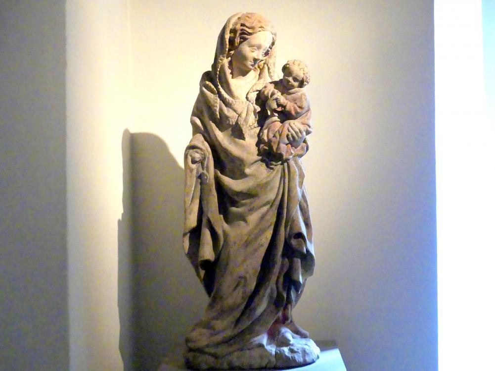 Muttergottes mit Kind, Um 1420
