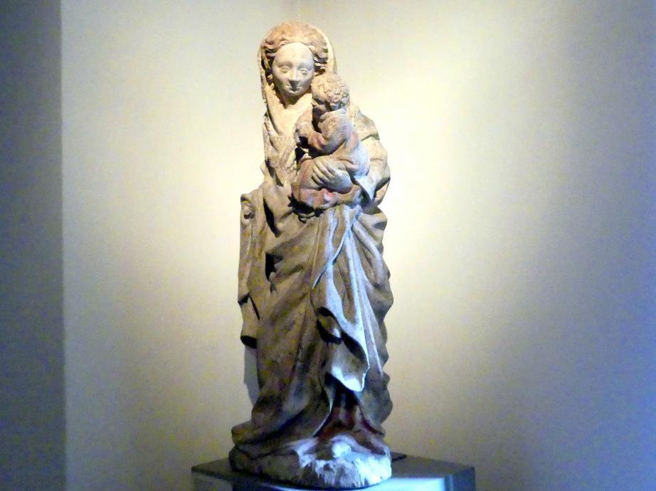 Muttergottes mit Kind, um 1420, Bild 2/4