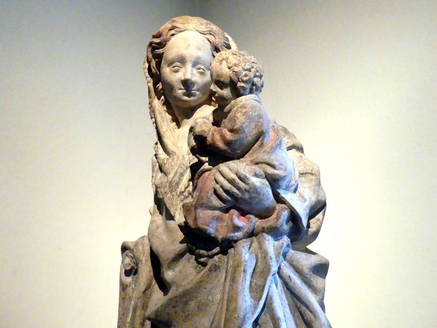 Muttergottes mit Kind, um 1420, Bild 3/4