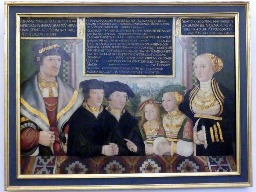 Pfalzgraf Johann II. (1492-1557), 1532