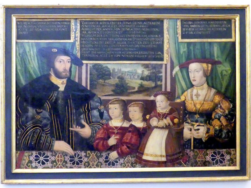 Herzog Wilhelm IV. von Bayern, 1534