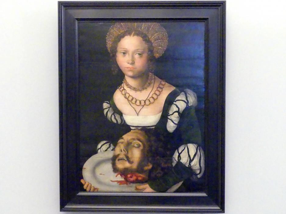 Lucas Cranach der Ältere: Salome mit dem Haupt Johannes des Täufers, um 1510 - 1512