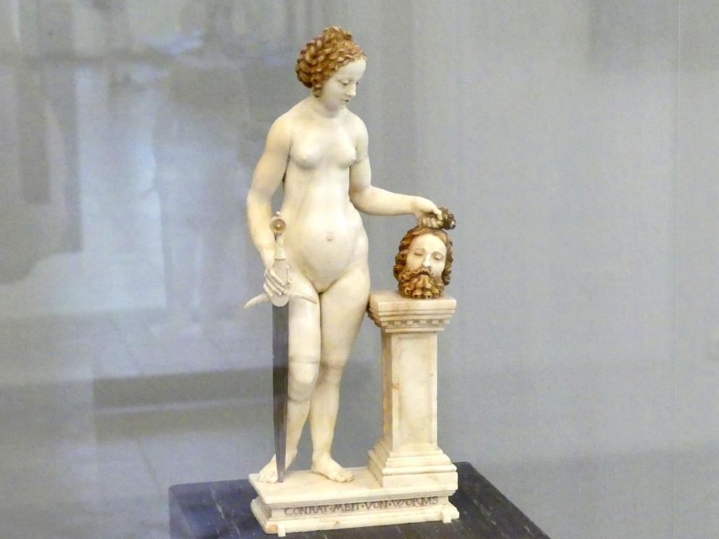 Conrat Meit: Judith mit dem Haupt des Holofernes, Um 1512 - 1514