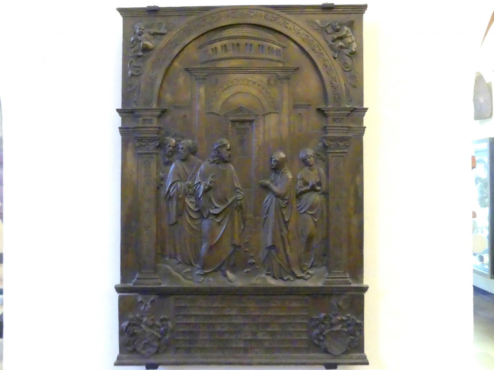 Hans Vischer: Christus und das kanaanäische Kleid, 1543