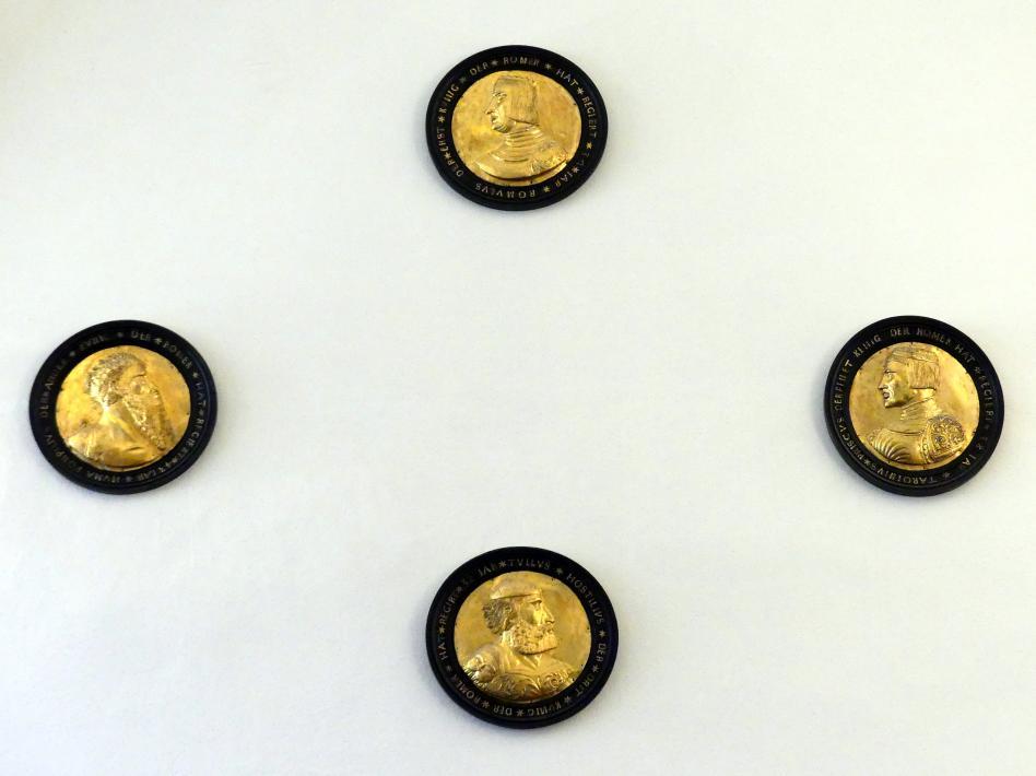 Vier römische Könige, 1. Hälfte 16. Jhd.