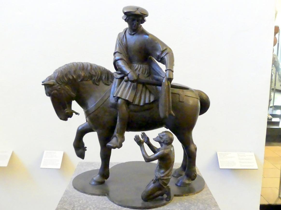 Sebald Hirder der Ältere: Heiliger Martin zu Pferde, Um 1525