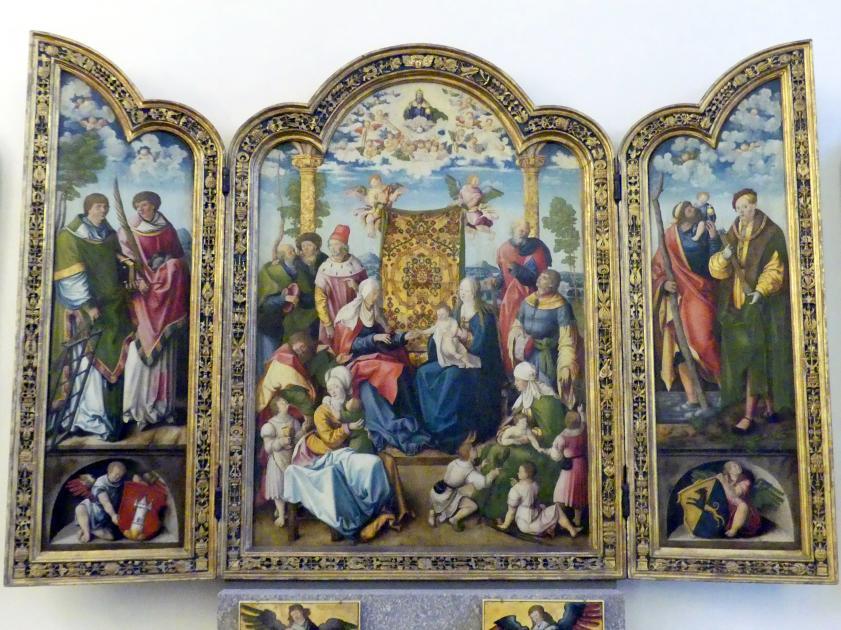 Wolf Traut: Artelshofener Altar, 1514, Bild 2/10