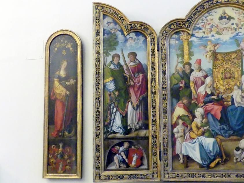 Wolf Traut: Artelshofener Altar, 1514, Bild 4/10