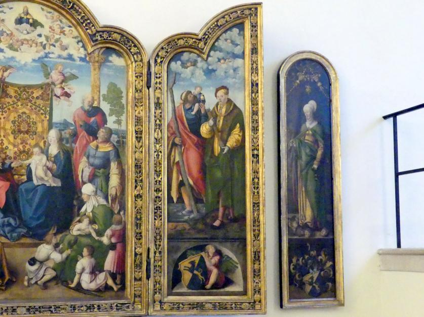 Wolf Traut: Artelshofener Altar, 1514, Bild 5/10