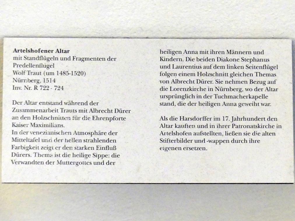 Wolf Traut: Artelshofener Altar, 1514, Bild 10/10