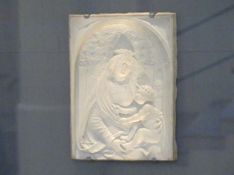 Loy Hering: Muttergottes mit Stifterin (Fragment), um 1515 - 1520