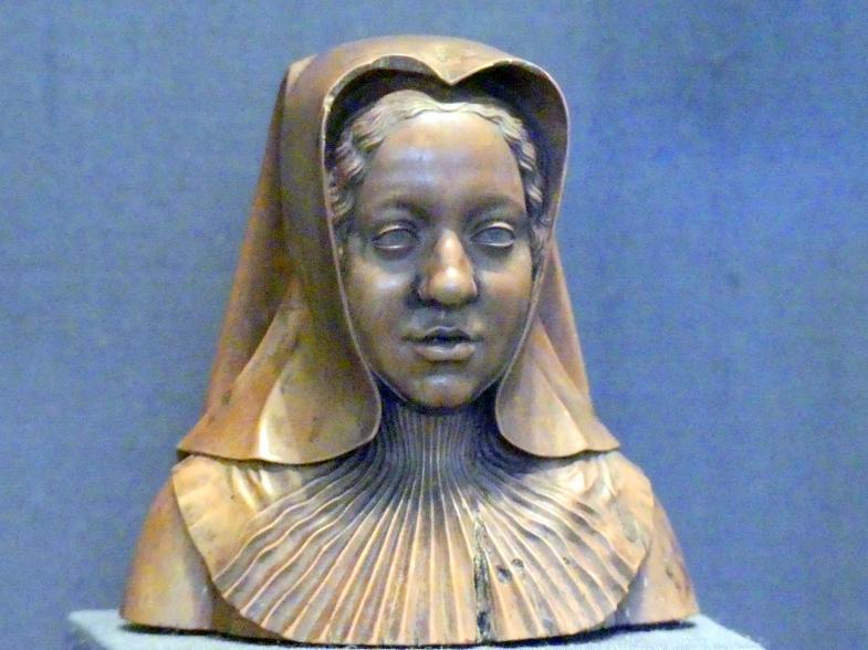 Conrat Meit: Erzherzogin Margarethe von Österreich, Statthalterin der Niederlande, Um 1518