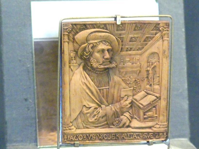 Peter Dell der Ältere: Bildnis des Jakob Woler, 1529