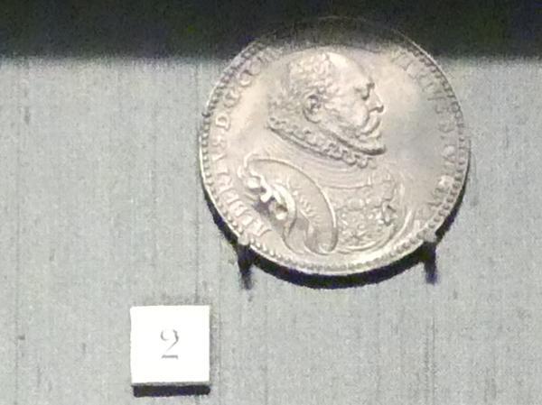 Schlachtenszene Medaille aus Albrecht V., 1576