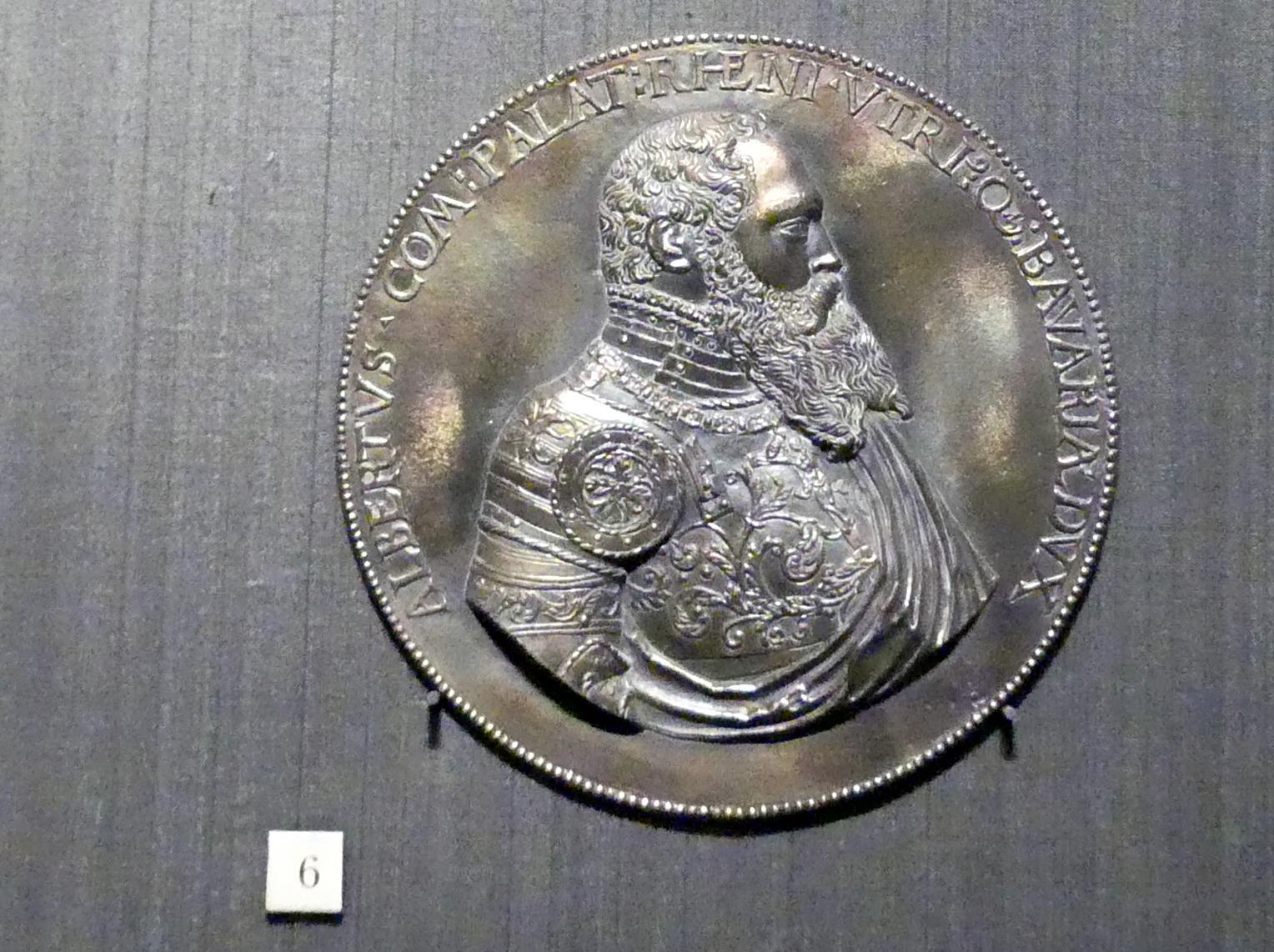 Hans Aesslinger: Albrecht V. von Bayern, 1558, Bild 1/2