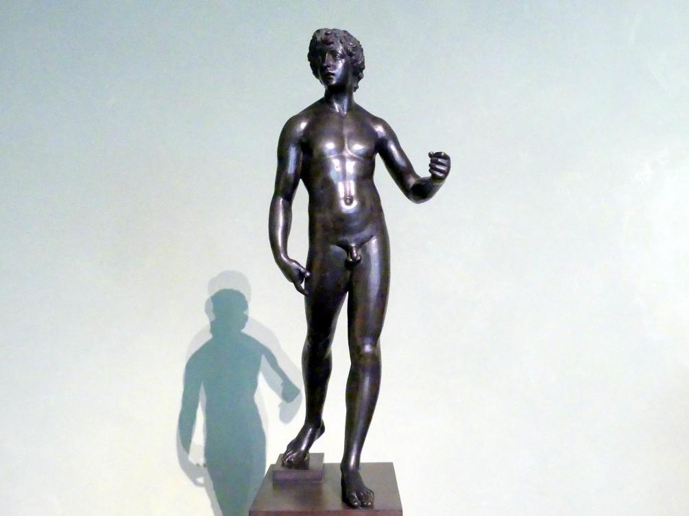 Andrea Sansovino (Umkreis): Schreitender Jüngling, Um 1500