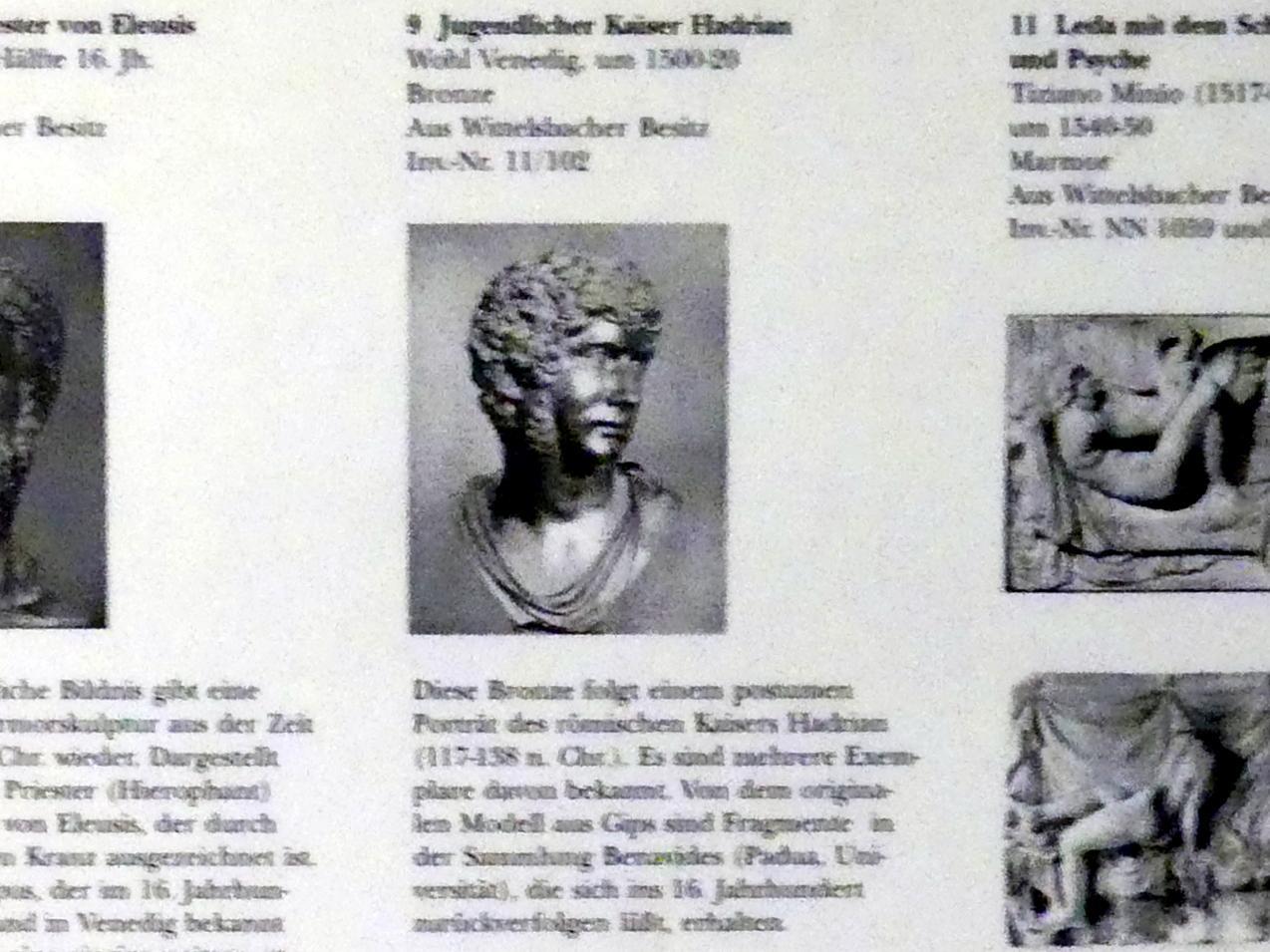 Jugendlicher Kaiser Hadrian, um 1500 - 1520, Bild 3/3