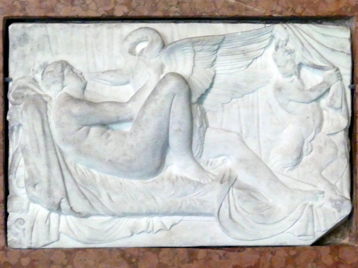 Tiziano Minio: Leda mit dem Schwan, um 1545 - 1550