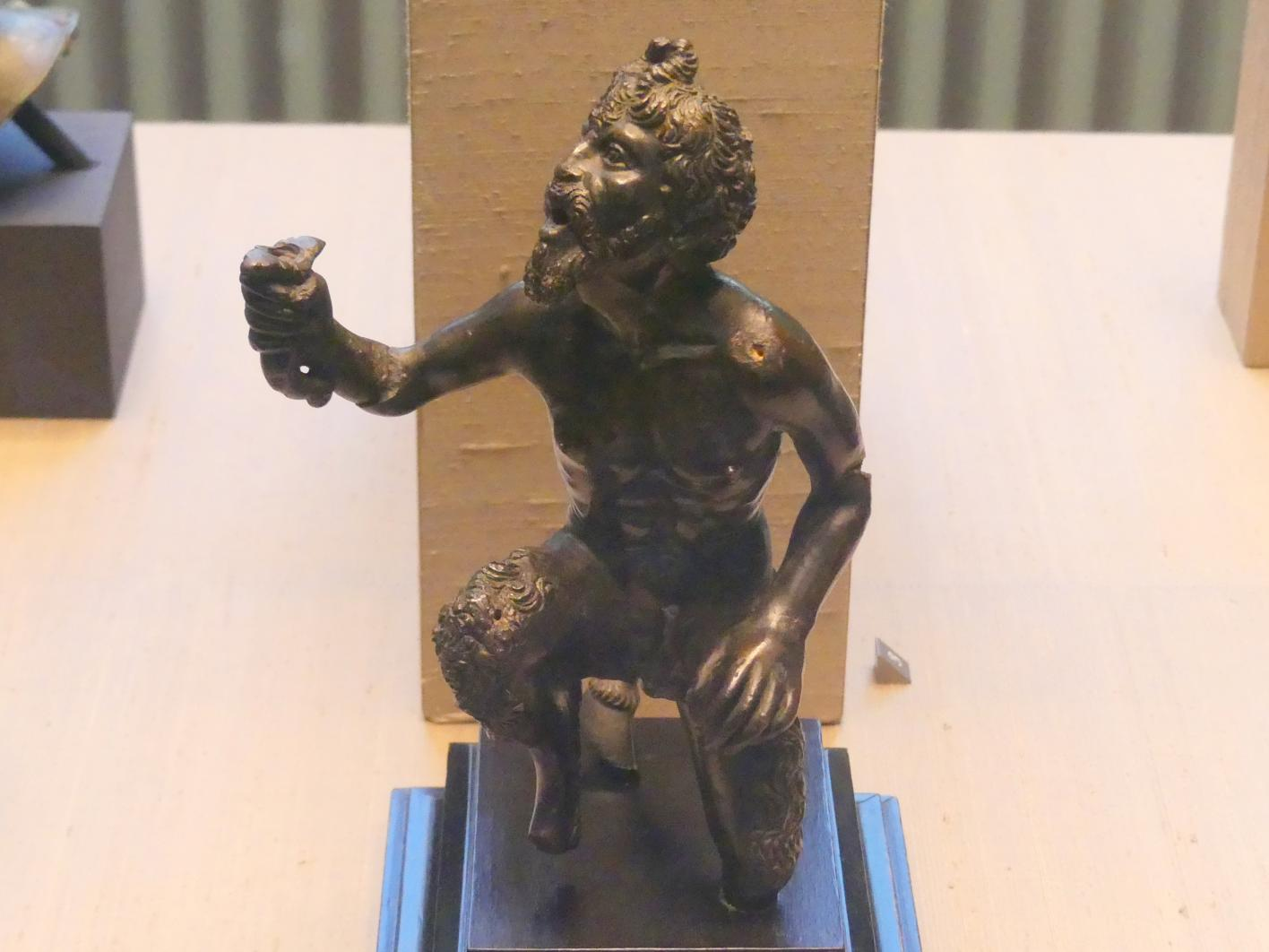 Severo Calzetta da Ravenna (Werkstatt): Satyr (Leuchterfigur), Beginn 16. Jhd.