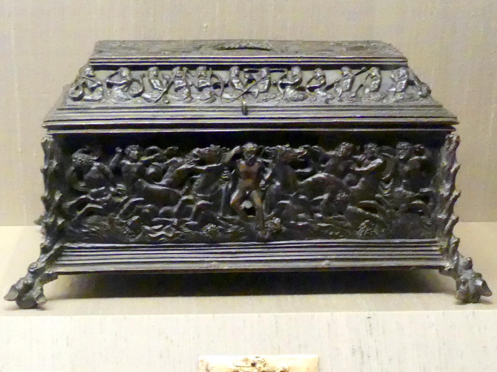Schreibkasten, Um 1500 - 1520