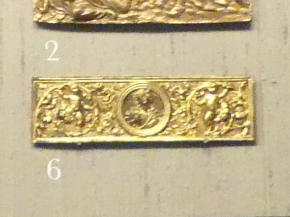 Ornamentfeld mit Lukretia, 3. Viertel 15. Jhd.