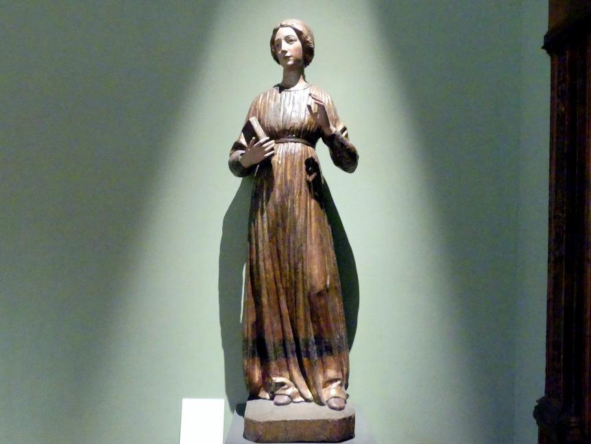 Francesco di Valdambrino: Maria aus einer Verkündigung, um 1410