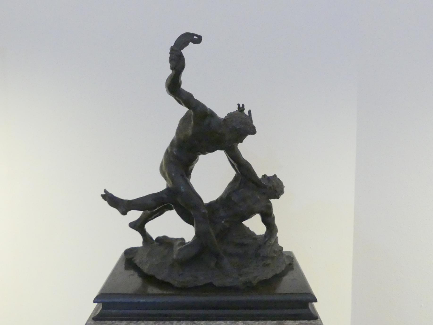 Simson im Kampf mit einem Philister, Um 1560 - 1570
