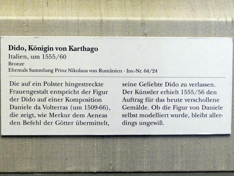 Dido, Königin von Karthago, um 1555 - 1560, Bild 2/2