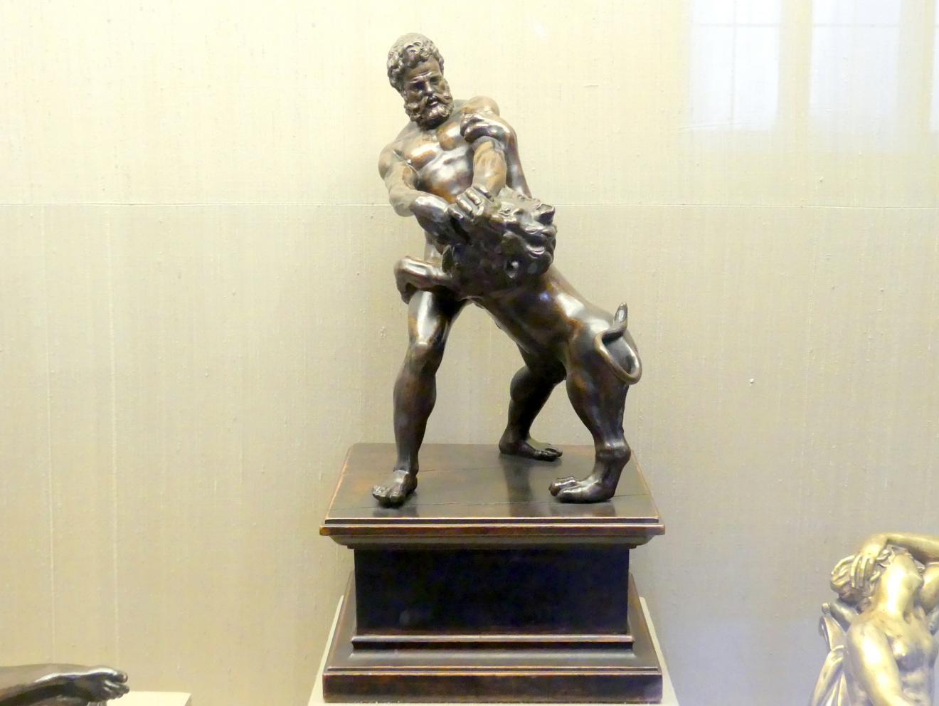 Giovanni da Bologna (Giambologna): Herkules bezwingt den Nemäischen Löwen, um 1600