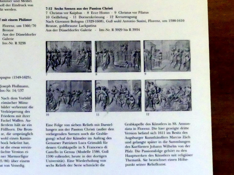 Giovanni da Bologna (Nachahmer): Sechs Szenen aus der Passion Christi, Um 1590 - 1610