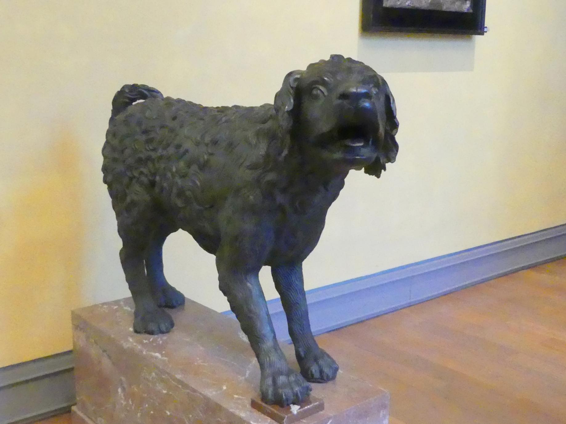 Hubert Gerhard (Werkstatt): Hirtenhund, Um 1600