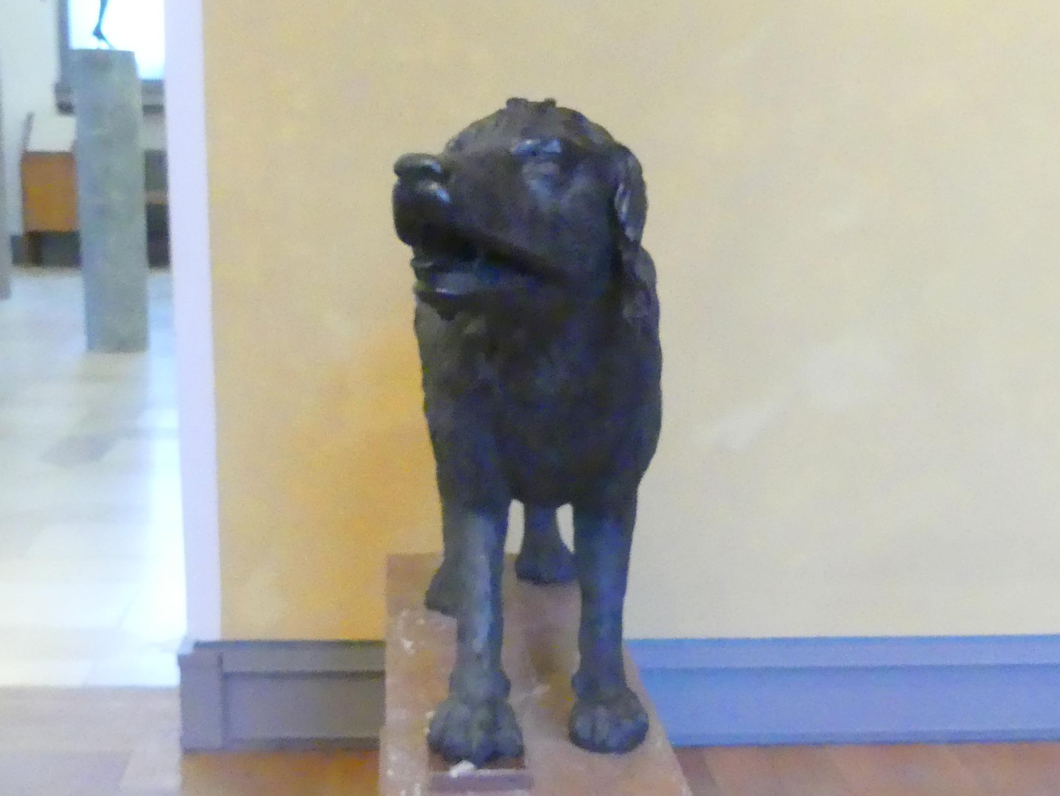 Hubert Gerhard (Werkstatt): Hirtenhund, um 1600, Bild 2/4