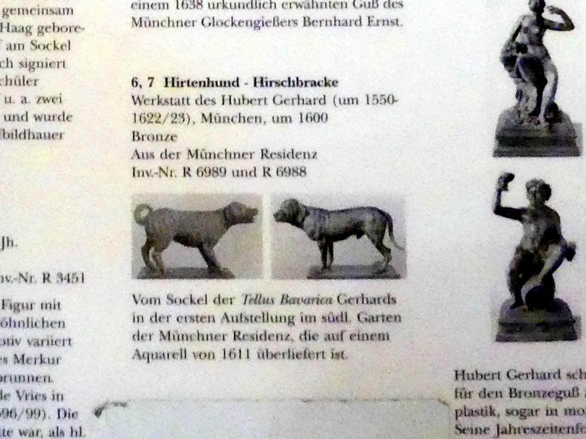 Hubert Gerhard (Werkstatt): Hirtenhund, um 1600, Bild 4/4