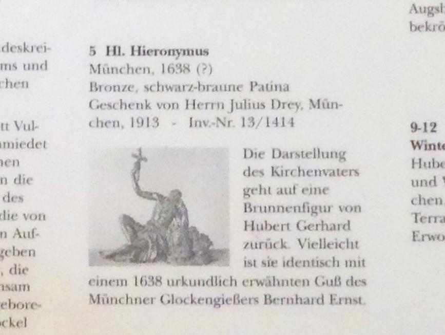 Hl. Hieronymus, 1638, Bild 2/2