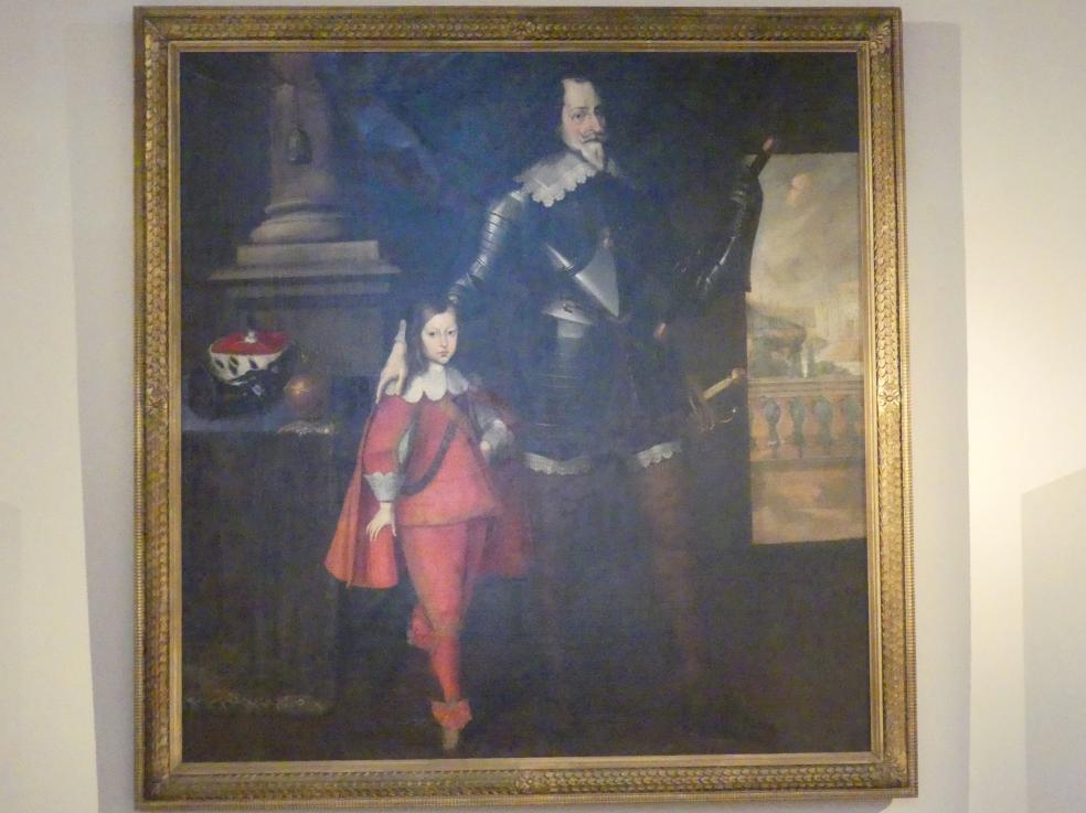 Nikolaus Prugger (Werkstatt): Kurfürst Maximilian I. und Kurprinz Ferdinand Maria, um 1674