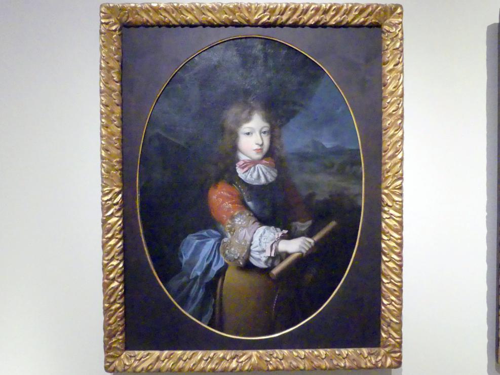 Paul Mignard: Bildnis des kurbayerischen Prinzen Max Emanuel als Feldherr, 1673 - 1674