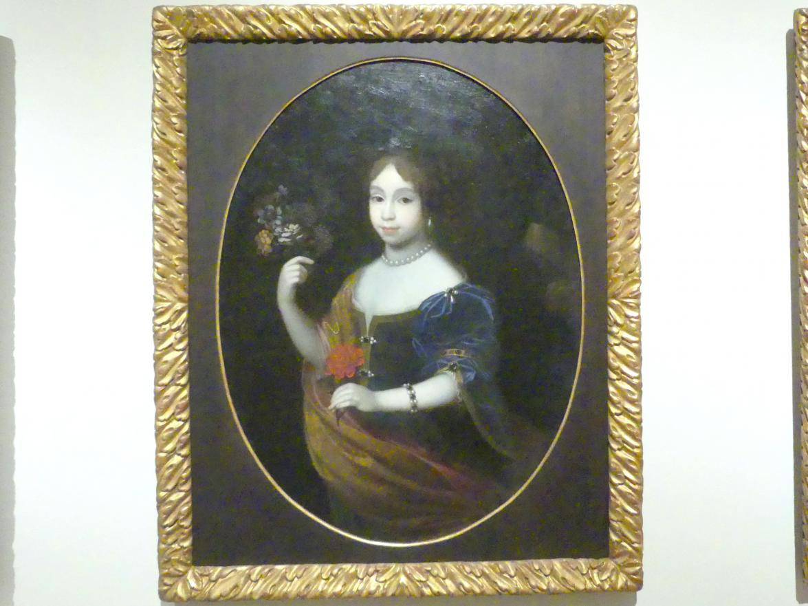 Paul Mignard: Bildnis der kurbayerischen Prinzessinn Maria Anna, 1673 - 1674