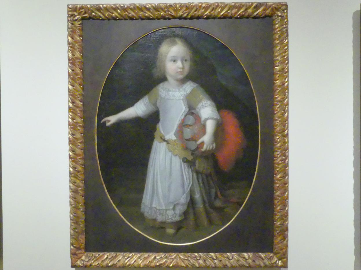 Paul Mignard: Bildnis des kurbayerischen Prinzen Joseph Clemens, 1673 - 1674
