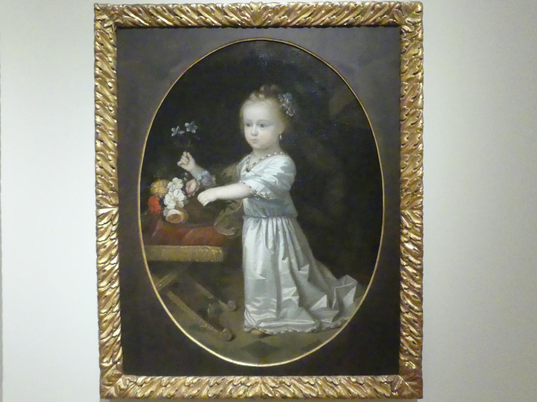 Paul Mignard: Bildnis der kurbayerischen Prinzessin Violante Beatrix, 1673 - 1674