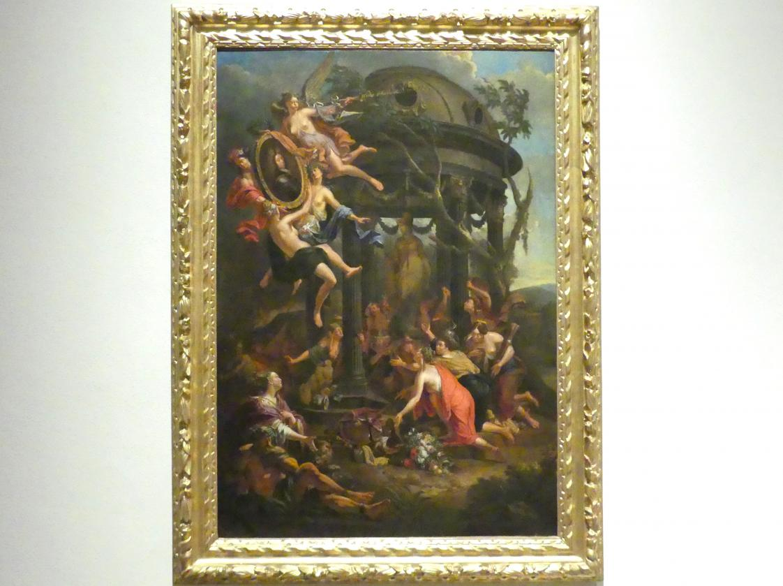 Jacques Ignatius de Roore: Allegorie auf Kurfürst Max Emanuel, Um 1711 - 1714