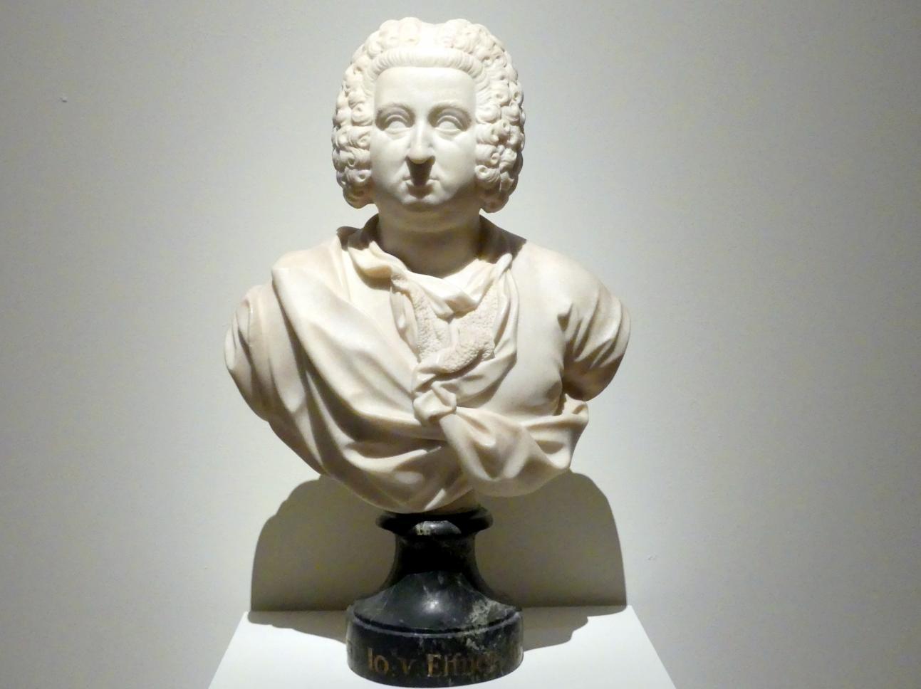 Charles de Groff: Joseph Effner, 1733